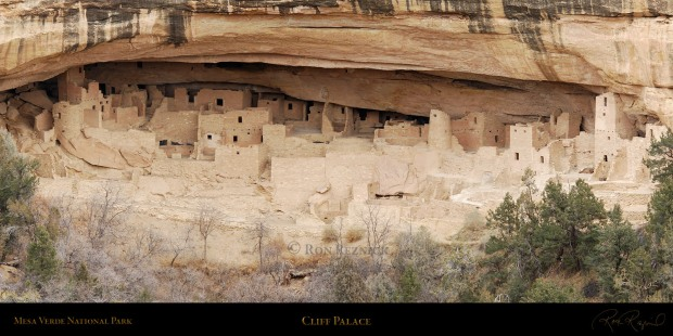 On My Easel:  Mesa Verde
